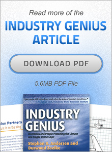 Read more of the Industry Genius Article (PDF)